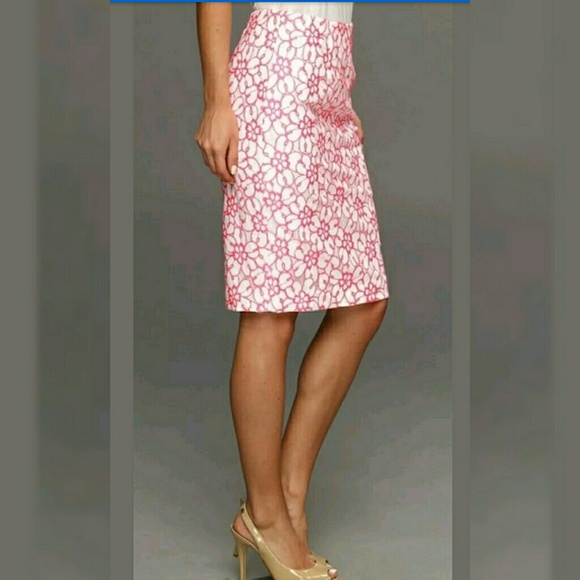 b26ac49fd Lilly Pulitzer Skirts   Pique Lace Hyacinth Skirt 8   Poshmark